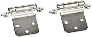 Cosmas 17630 Sn Satin Nickel Cabinet Hinge Variable