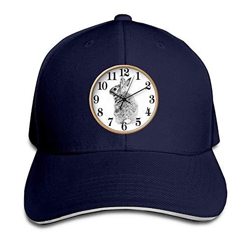 Cowgirl Men Cap Hats Denim Cowboy Hat Sport Skull Women for Clock Rabbit WxYnWCqv