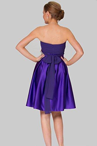 SEXYHER 1677 c¨®ctel tirantes la H91DS CadburyPurple rodilla de de de longitud damas vestido de honor COJ magn¨ªfico rr1Uqwpx6