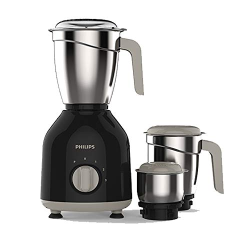 Philips HL7756 Mixer Grinder 750W Turbo Motor with Stainless Steel Jars