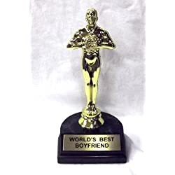 World's Best Boyfriend Trophy-7""