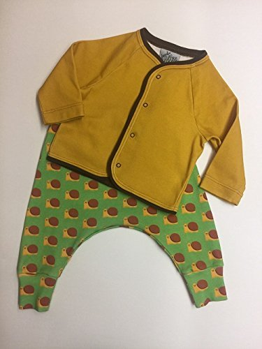 Infant and Toddler Pants and Cardigan Set - Snail