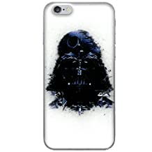 """iPhone 6/6s (4.7"""") Star Wars Silicone Phone Case / Gel Cover for Apple iPhone 6S 6 (4.7"""") / Screen Protector & Cloth / iCHOOSE / Vader Death Star"""