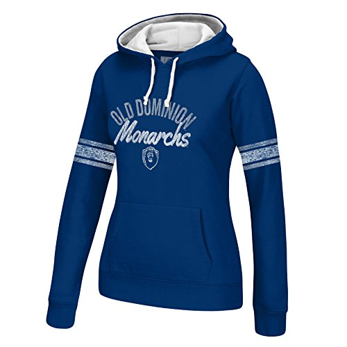 NCAA Old Dominion Monarchs Women's Essential Hoodie, XX-Large, Navy/White