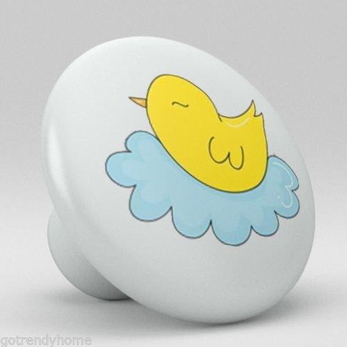 Cute Chicken Ceramic Knobs Nursery Pulls Kitchen Drawer Dresser Cabinet 1138 by gotrendyhome