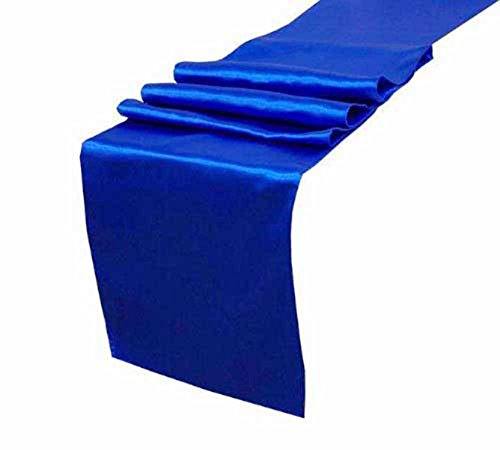 Cathery Table Runner for Wedding Banquet Decoration 30275CM Engagement Pary, Event Table Decor (Royal blue) ()