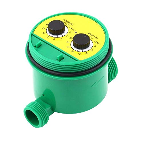 ees.Two Dial Automatic Electronic Water Timer Garden Watering Irrigation Controll~TY
