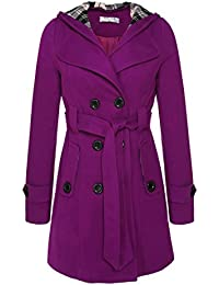 Amazon.com: Purples - Wool & Blends / Wool & Pea Coats: Clothing ...
