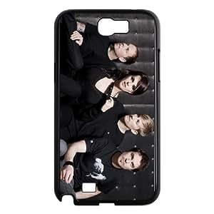 Samsung Galaxy N2 7100 Cell Phone Case Covers Black Die Happy J9916162