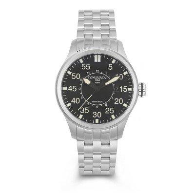 Torgoen Swiss Men's T34201 Pilot Watch