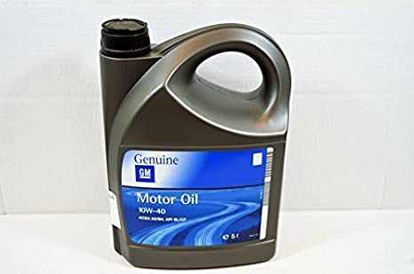 93165216: auténtica 10 W/40 aceite de motor Semi sintético - 5 litros - nuevo desde LSC: Amazon.es: Coche y moto