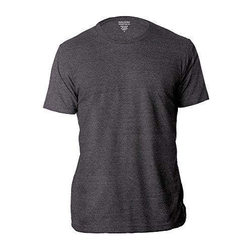 Banana Republic Mens Crew Neck Premium Wash T Shirts  Charcoal  Large