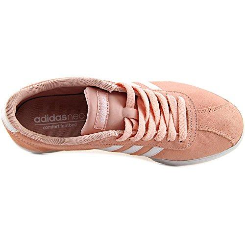 Outlet barato Zapatillas De Deporte Courtset Adidas De Las Mujeres De Color Rosa Vapor De Rosa / Blanco / Vapor Colecciones de Outlet Calidad Original S6OJ73z