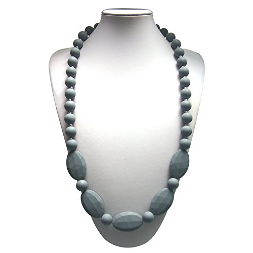 Delooa™ 15 COLORS Silicone Baby Teething Nursing Necklace