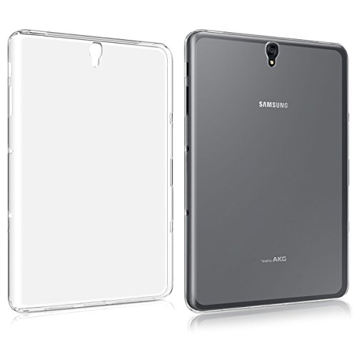 Galaxy Tab S3 9.7 Inch T825 Clear Case, Cavor Ultra-Thin Slim-Fit Silicone Back Cover Clear Plain Soft TPU Gel Rubber Waterproof Protector Shell for Samsung Galaxy Tab S3 9.7 Inch T825 (Samsung Galaxy S3 Cases Clear)