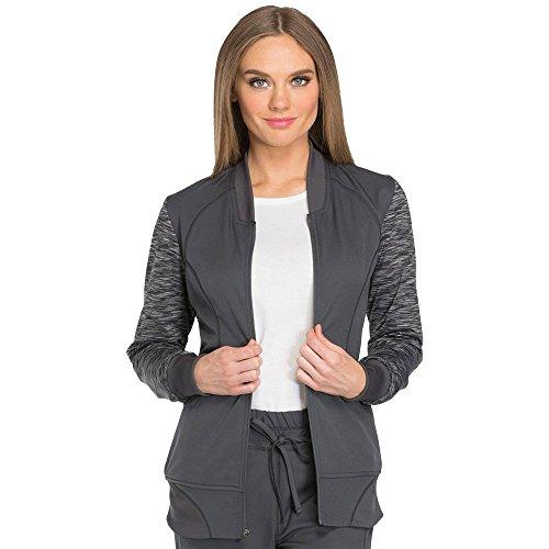 Women's Dynamix Mélange Zip Front Warm-Up Jacket