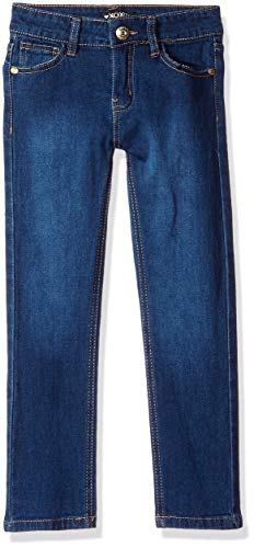 XOXO Girls' Big Stretch Skinny Jean, Dark wash Rhinestone, 7