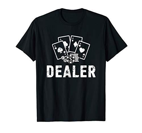 Gambling Man Halloween Costumes - Casino Dealer Halloween Costume TShirt Poker