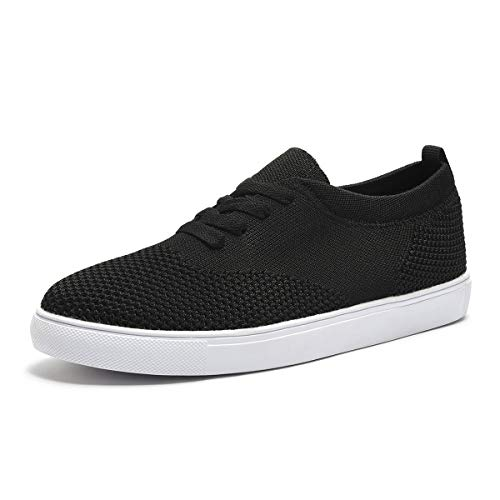 ARTISURE Women's Classic Lightweight Athletic Walking Shoes Casual Sneakers Fashion Skate Shoes Black 8 M US SKS-1222HEI80A