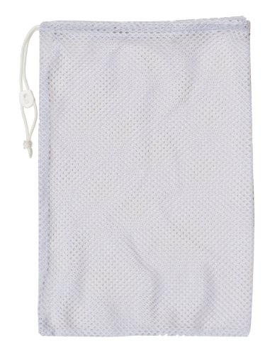 Champion Sports Mesh Equipment Bag (White, 24 x 48-Inch)