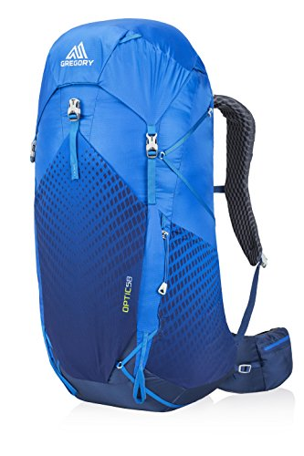 Gregory Mountain Products Men's Optic 58 Liter Backpack, Beacon Blue, Large