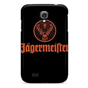 Shockproof Cell-phone Hard Cover For Samsung Galaxy S4 With Provide Private Custom Trendy Jagermeister Pictures AaronBlanchette