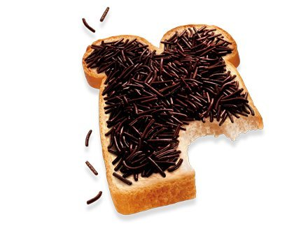 De Ruijter Chocolade Hagel slag Puur (Dark Chocolate Sprinkles) Schokoladen Streusel (Single)