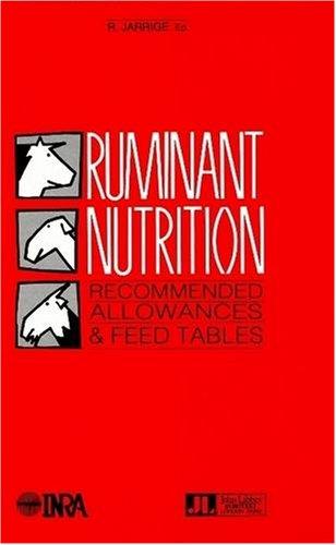 Ruminant Nutrition by John Libbey & Company