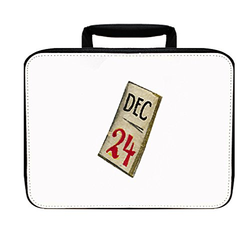 Calendar Showing Twenty-Four Of December Christmas Insulated Lunch Box Bag December Kit