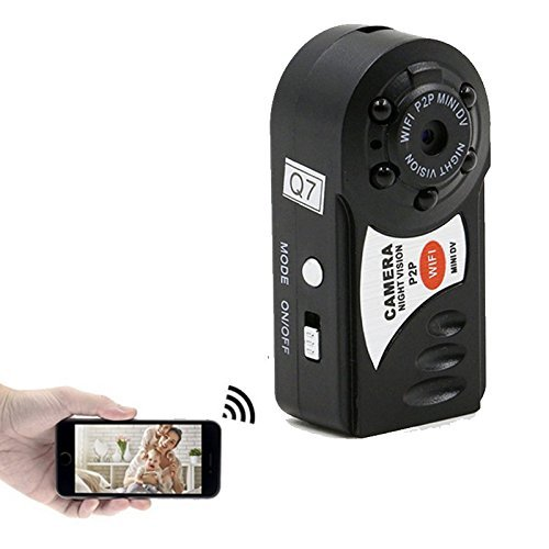 Fashionyourlife Mini Wifi DVR Video Camera Recorder Wireless Wi-fi IP Camcorder Night Vision Camera...