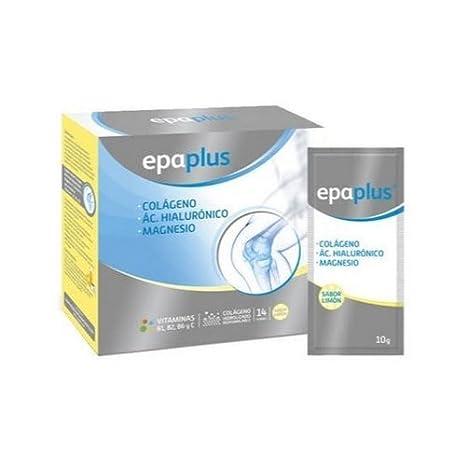 Epaplus Colágeno, Hialurónico, Magnesio 14 sobres de Peroxidos Farmaceuticos: Amazon.es: Salud y cuidado personal