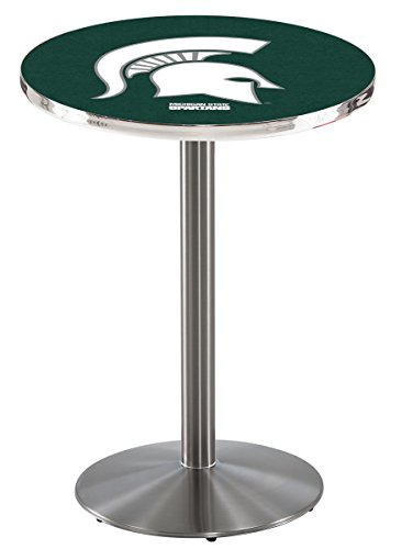 Holland Bar Stool L214S Michigan State University Officially Licensed Pub Table, 28