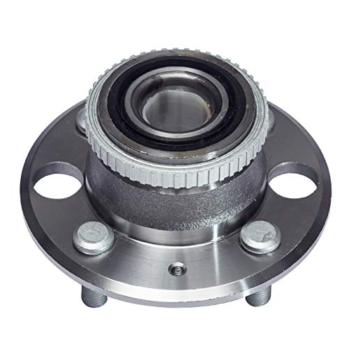 TUCAREST 513105 Rear Wheel Bearing and Hub Assembly Compatible With 1990-1901 Acura Integra (Exc.Type R Models) 1992-1995 Honda Civic 1995-1997 Civic del Sol [5 Lug W/ABS]