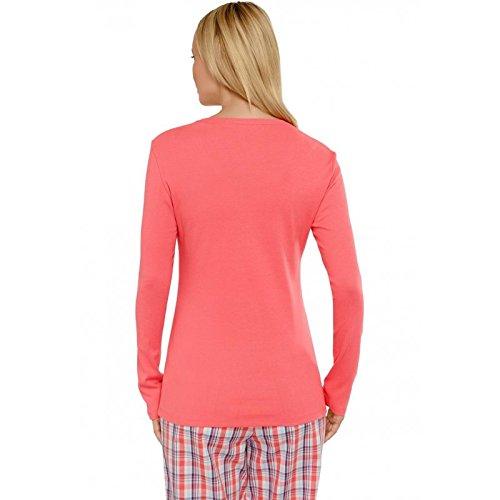 Schiesser Women s Nightdress Sleep Shirt Plain Mix   Relax - Pink -  XXX-Large  Amazon.co.uk  Clothing 8776d1e4b