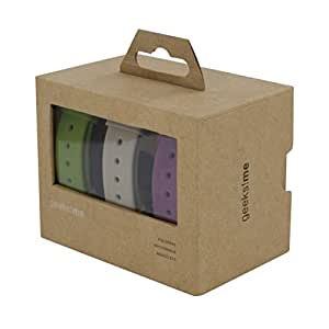 Geeks!me GMCOPACK - Pack de 3 correas de colores para Reloj Life Lovers