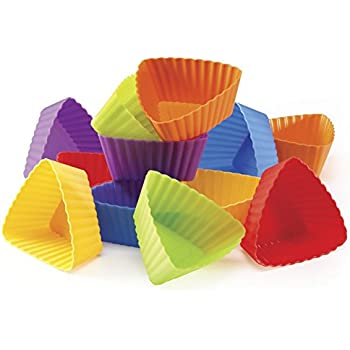 Triangle Silicone Cupcake Liners (Set of 12)