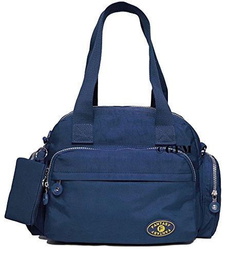 GFM tela de nailon con 3 compartimento bolsa para herramientas de Style 1 - Navy Blue (601GHNL)