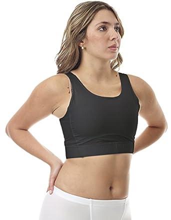 Underworks Magicotton Sports Bra And Binding Minimizer Bra