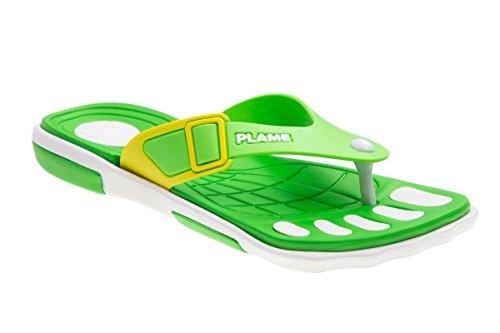 Women's B FLAMEshoes Green 2009 Clogs YqCpB