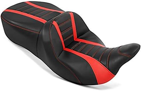 Sitzbank Für Harley Street Glide Special 15 21 Craftride Tg3 In Schwarz Rot Auto