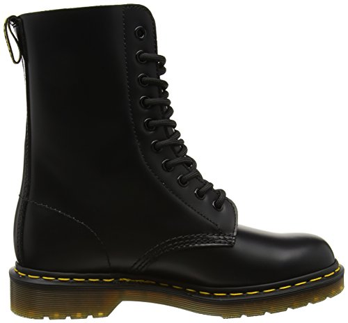Dr Boots Martens Ankle Original Black Unisex Adult 1490 Black Smooth YnFwrqYd
