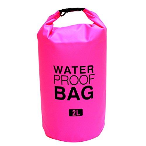 2l Sunwanyi 10l 2l With Pink Shoulder Bag Straps Rafting Kayaking 30l 15l Canoeing Storage Beach Boating Waterproof Camping 5l Dry Adjustable R1X1qtxr