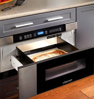 Dacor 30 inch Drawer 1 cu. ft. Stainless Steel Microwave - MMD30S