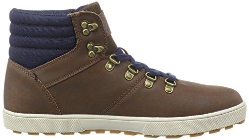 Kappa PINE Footwear men - zapatillas deportivas altas de material sintético hombre marrón - Braun (5067 brown/navy)