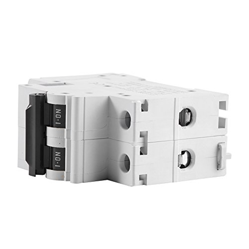 2P 250V Low-voltage DC Miniature Circuit Breaker For Solar Panels Grid System din rail mount(63A) by Walfront (Image #4)