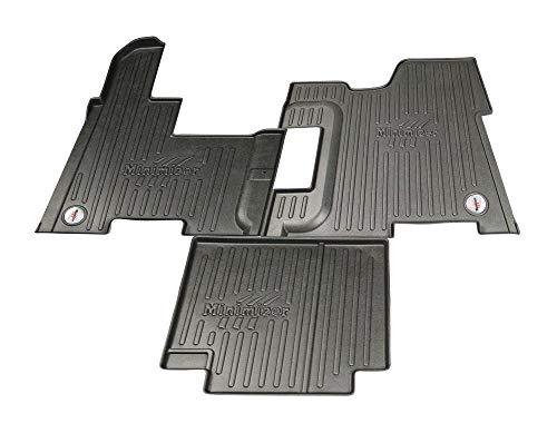 Minimizer Floor Mats; Manual Trans; Fits Peterbilt Models (2008-2019) 365, 367, 384, 386, 388, 389 w/Manual Trans. (Incompatible w/Battery Box Under Passenger seat) Peterbilt Models Part #FKPB3B (Model Peterbilt)