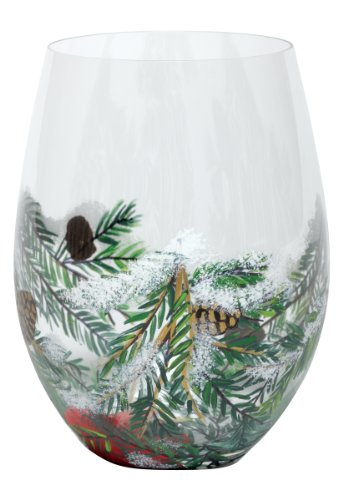 Lolita Stemless Wine Glass, Winter's Cup, 20-Ounce by Unknown