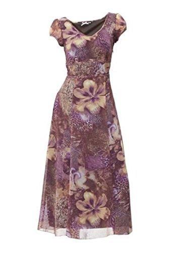 03ad5fa2ad76a robe en tissu imprimé Robe de Classe - en Couleur coloré - multicolore,  Femme,
