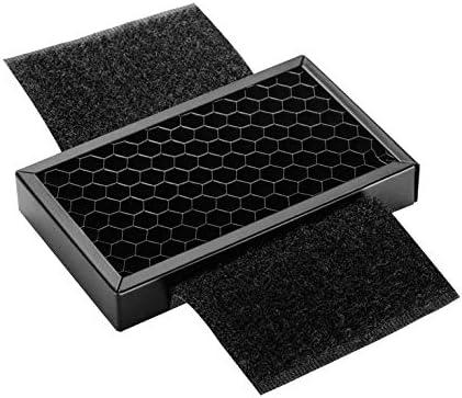 Goldyqin Grille de Mini-nid d'abeille Portable - Noir