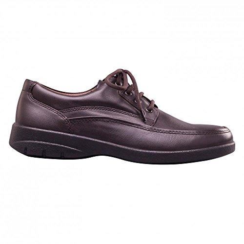 嘻呱PAD Lunar - Zapatos de cordones para hombre marrón oscuro